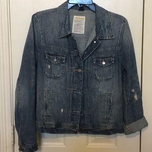 J Crew lightweight jean jacket